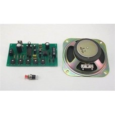 Trax DHM-24 Two-Tone Diesel Horn Module with 10.2 x 10.2cm Speaker
